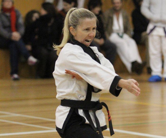 Master Anna Oliver 4th Dan