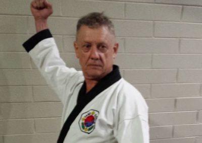 Master Alan Holland 5th Dan