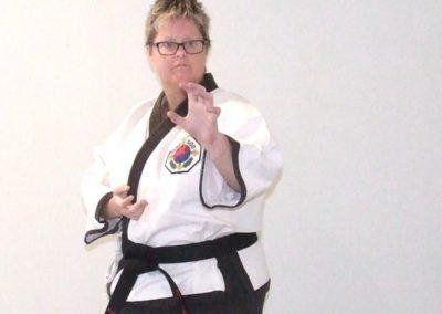 Master Tara Haneveld 4th Dan