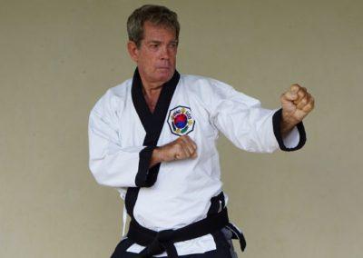 Master Arnold Nutt 5th Dan